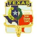 Eagle Emblems P09244 Pin-Texas (Map) (1
