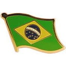 Eagle Emblems P09514 Pin-Brazil (Flag) (1