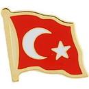 Eagle Emblems P09610 Pin-Turkey (Flag) (1