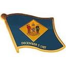 Eagle Emblems P09908 Pin-Delaware (Flag) (1