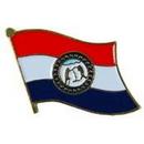 Eagle Emblems P09926 Pin-Missouri (Flag) (1