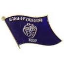 Eagle Emblems P09938 Pin-Oregon (Flag) (1