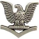 Eagle Emblems P10151 Pin-Usn, Petty Off.3Cl, Lf (7/8