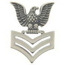 Eagle Emblems P10154 Pin-Usn, Petty Off.1Cl, Rt (1