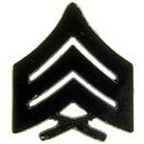 Eagle Emblems P10215 Rank-Usmc, E5, Sgt (Subdued) (1