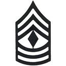 Eagle Emblems P10218 Rank-Usmc, E8, 1St Sgt (Subdued) (1