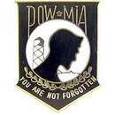 Eagle Emblems P12024 Pin-Pow*Mia, You'Re Not, Bk (Mini) (7/8
