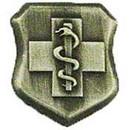 Eagle Emblems P12119 Pin-Usaf, Med.Tech.Bas. (1