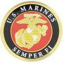 Eagle Emblems P12191 Pin-Usmc Logo, Semper Fi (1