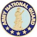 Eagle Emblems P12228 Pin-Army, National Guard (Reg) (1