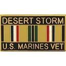 Eagle Emblems P12259 Pin-Dest.Storm, Usmc, Vet. (1-1/8