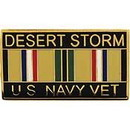 Eagle Emblems P12260 Pin-Dest.Storm, Usn, Vet. (1-1/8