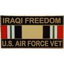 Eagle Emblems P12268 Pin-Iraqi Freed, Usaf, Vet. (1-1/8