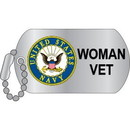 Eagle Emblems P12317 Pin-Usn, Woman Veteran