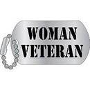 Eagle Emblems P12327 Pin-Woman Veteran