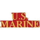 Eagle Emblems P12514 Pin-Usmc, Scr U.S.Marine (1-3/8