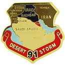 Eagle Emblems P12572 Pin-Dest.Storm, Map (1