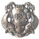 Eagle Emblems P12740 Pin-Diver, 1St Cl (1-1/16