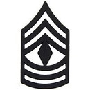 Eagle Emblems P12756 Rank-Army, E8, 1St Sgt (Subdued) (1