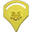 Eagle Emblems P12760 Rank-Army, Spc-5 (Gld) (1