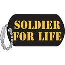 Eagle Emblems P12772 Pin-Army, Soldier For Life