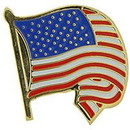 Eagle Emblems P12876 Pin-Usa Flag, Wavy/Curled (1