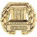 Eagle Emblems P13104 Pin-Honor Guard, Tomb (Gld) (1