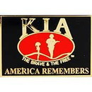Eagle Emblems P13115 Pin-Memorial, Flag, America Remembers Our Kia (1