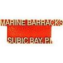 Eagle Emblems P14145 Pin-Usmc, Scr, Subic Bay- (1