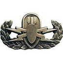 Eagle Emblems P14157 Bdg-Army, Eod, Basic (1-1/4