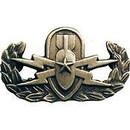 Eagle Emblems P14158 Bdg-Army, Eod, Senior (1-1/4