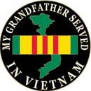 Eagle Emblems P14214 Pin-Viet, Map, Grandfather (1
