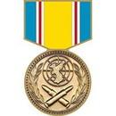 Eagle Emblems P14215 Pin-Medal, Korean War Serv (1-3/16