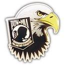Eagle Emblems P14225 Pin-Pow*Mia, Eagle Head (1