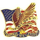 Eagle Emblems P14243 Pin-Usa, 911, Let'S Roll