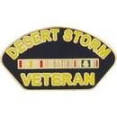 Eagle Emblems P14249 Pin-Dest.Storm, Veteran (1-1/4