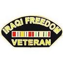 Eagle Emblems P14251 Pin-Iraqi Freed, Veteran (1-1/4