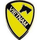 Eagle Emblems P14255 Pin-Viet, 001St Cav.Div. (1
