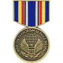 Eagle Emblems P14291 Pin-Medal, Global War On Terror, Service (1-3/16