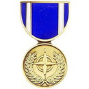 Eagle Emblems P14295 Pin-Medal, Nato (1-3/16