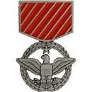 Eagle Emblems P14401 Pin-Medal, Usaf Combat Act (1-3/16