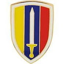Eagle Emblems P14666 Pin-Viet, U.S.Army (1