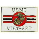 Eagle Emblems P14677 Pin-Viet, Usmc, Viet-Vet (1