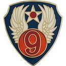 Eagle Emblems P14694 Pin-Usaf, 009Th (1