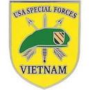 Eagle Emblems P14743 Pin-Viet, Special Forces (1