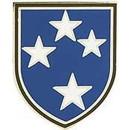 Eagle Emblems P14749 Pin-Army, 023Rd Inf.Div.Am (1