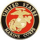 Eagle Emblems P14771 Pin-Usmc Logo B (Sml) (3/4
