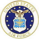 Eagle Emblems P14773 Pin-Usaf Emblem B (Sml) (3/4