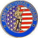 Eagle Emblems P14776 Pin-Army, National Guard (Sml) (3/4