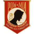 Eagle Emblems P14790 Pin-Pow*Mia, You'Re Not, Rd (1-1/16